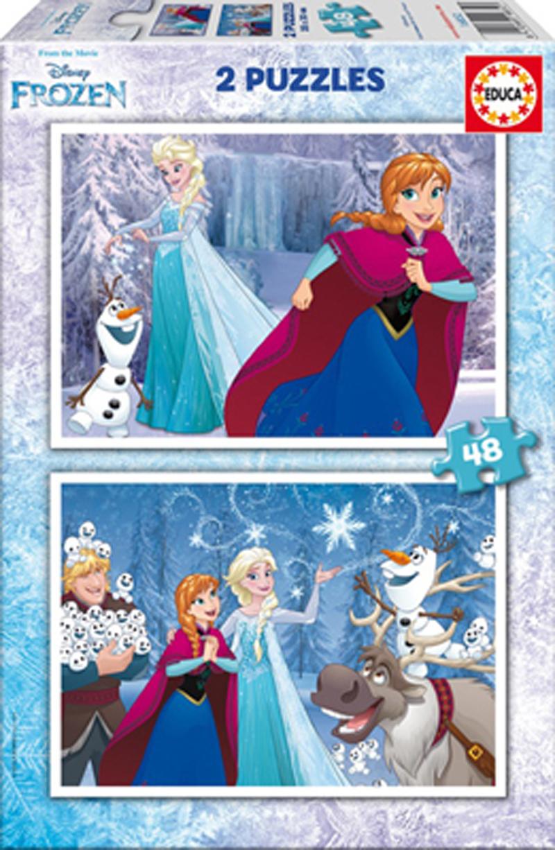 Puzzle Educa Frozen 2 x 48 Piezas