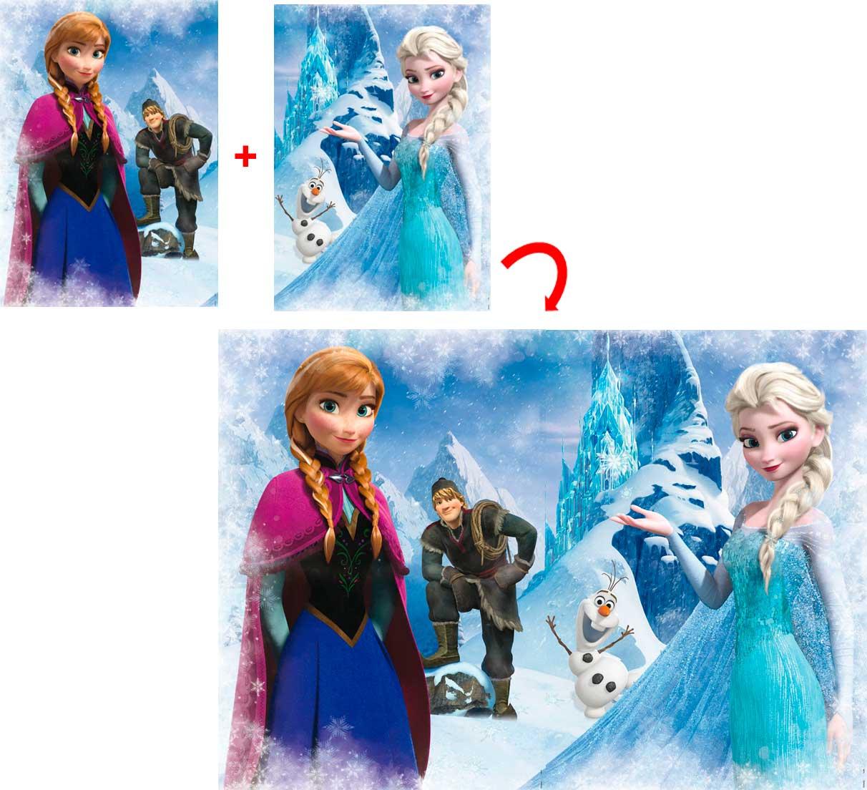 Puzzle Educa Frozen 2 x 500 de 1000 Piezas