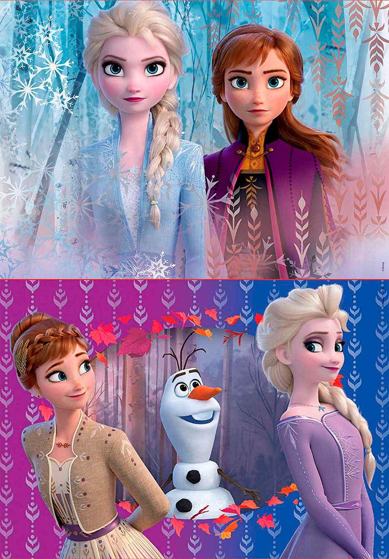 Puzzle Educa Frozen 2 de 2 x 20 Piezas