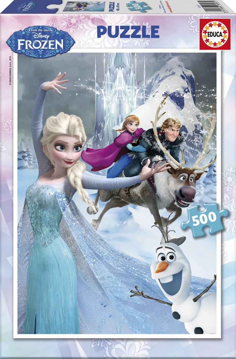 Puzzle Educa Frozen de 500 Piezas