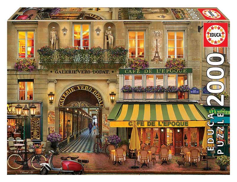 Puzzle Educa Galerie Paris de 2000 Piezas
