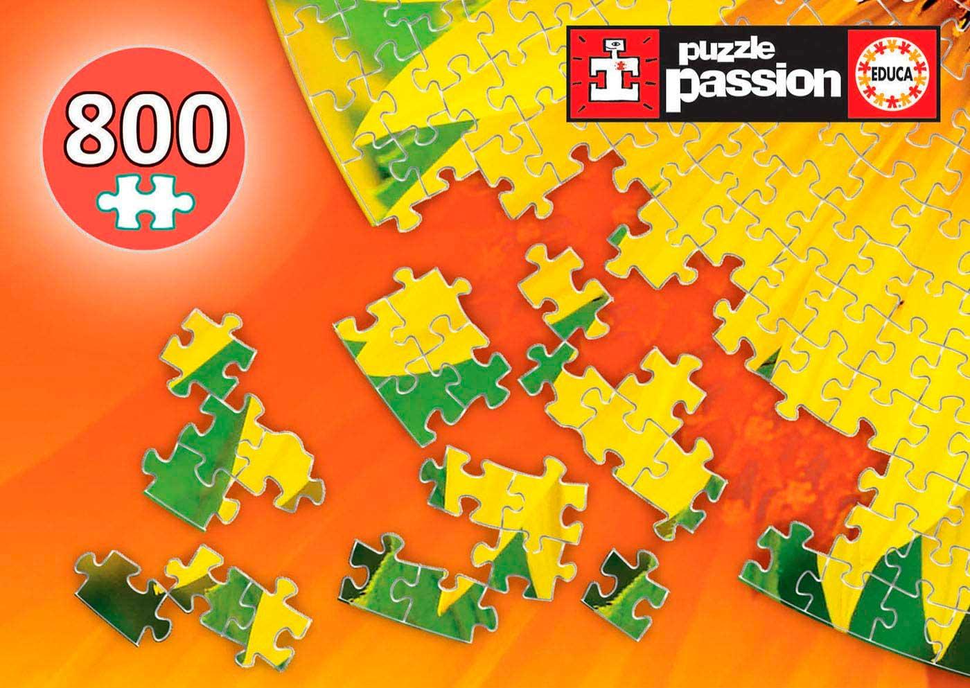 Puzzle Educa Redondo Girasol de 800 Piezas