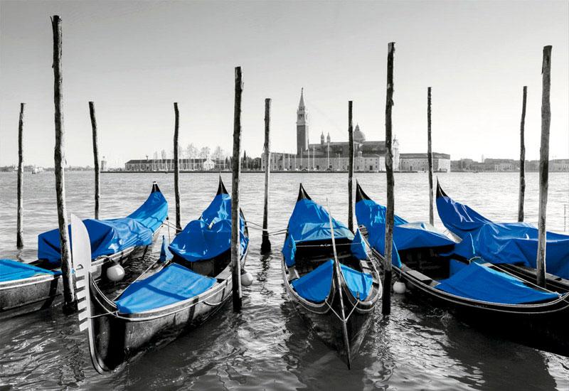 Puzzle Educa Góndolas en Venecia de 1000 Piezas