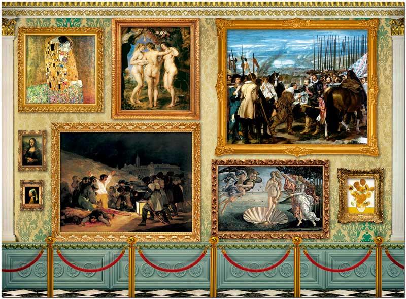 Puzzle Educa Grandes Obras de Arte de 12000 Piezas