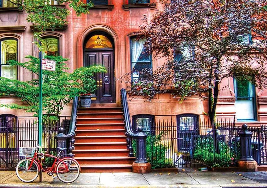 Puzzle Educa Greenwich Village, Nueva York de 1500 Piezas
