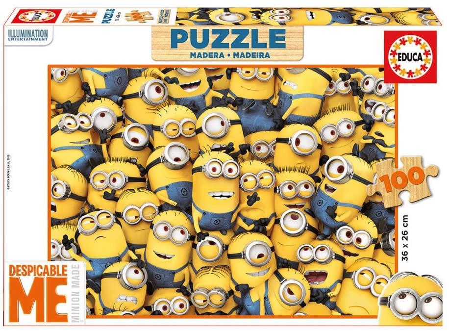 Puzzle Educa Gru Mi Villano Favorito 3 de 100 Piezas