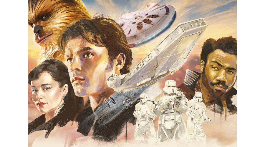 Puzzle Educa Han Solo, Una Sistoria de Star Wars 1000 Piezas