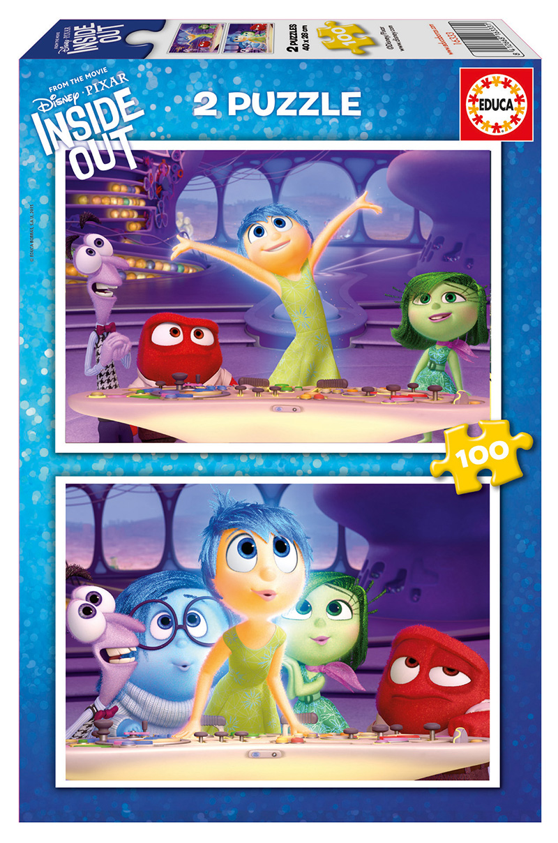 Puzzle Educa Inside Out 2 x 100 Piezas