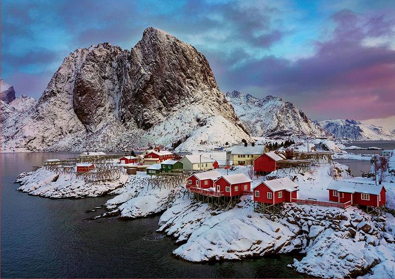 Puzzle Educa Islas Lofoten, Noruega de 1500 Piezas