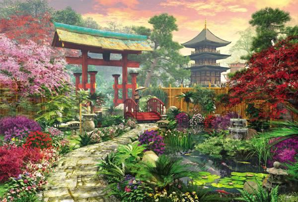 Puzzle Educa Jardín Japonés de 3000 Piezas