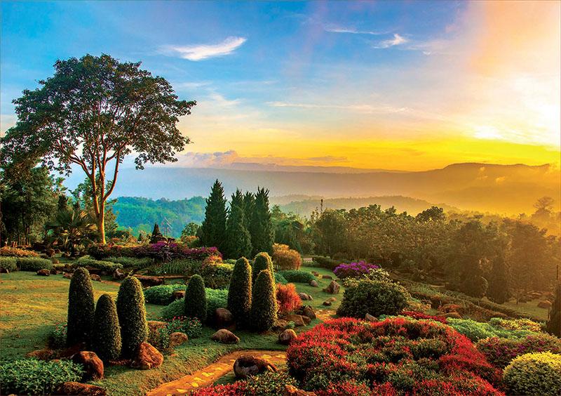 Puzzle Educa Jardín Precioso de 1000 Piezas