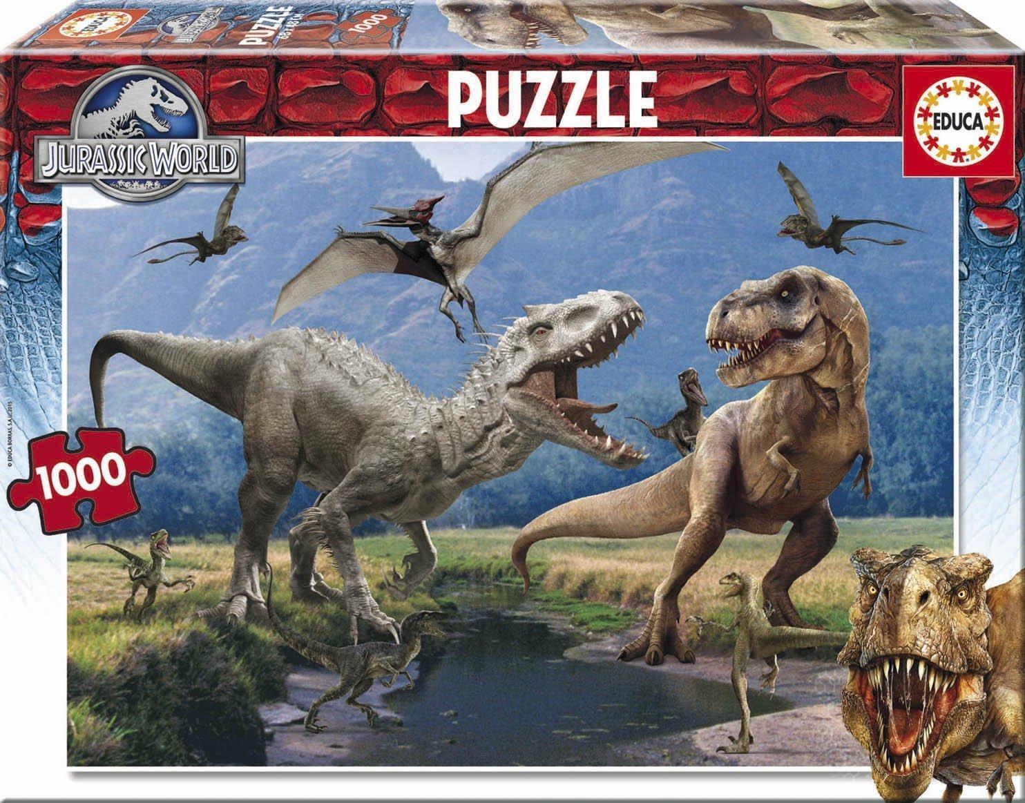 Puzzle Educa Jurassic World 1000 Piezas