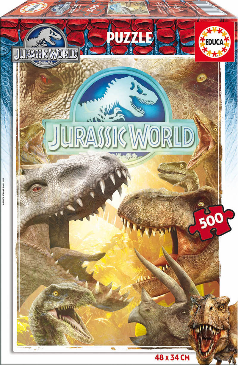 Puzzle Educa Jurassic World 500 Piezas