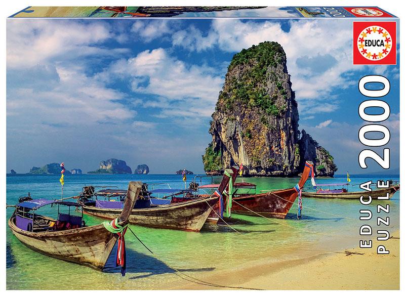 Puzzle Educa Krabi, Tailandia de 2000 Piezas