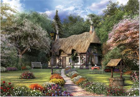 Puzzle Educa La Casa de las Rosas de 1500 Piezas