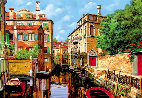 Puzzle Educa La Luz de Venecia de 2000 Piezas