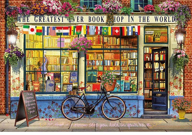 Puzzle Educa La Mejor Librería del Mundo de 5000 Piezas