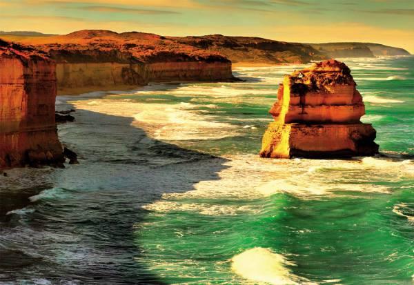Puzzle Educa La Ruta Oceánica, Australia de 1000 Piezas