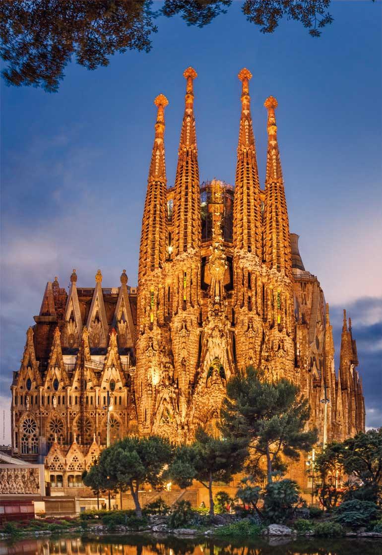 Puzzle Educa La Sagrada Familia de 1000 Piezas