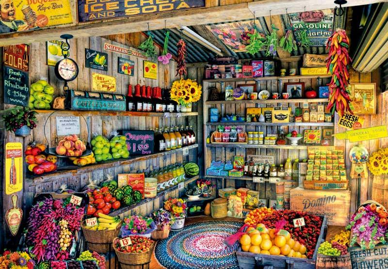 Puzzle Educa La Tienda de Comestibles de 2000 Piezas