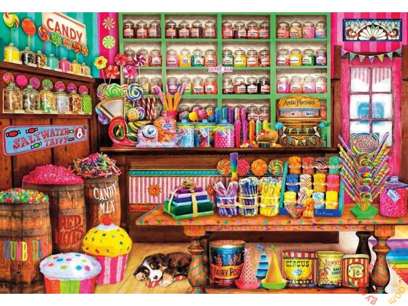 Puzzle o Trato, Puzzle Educa La Tienda de Dulces de 1000 Piezas