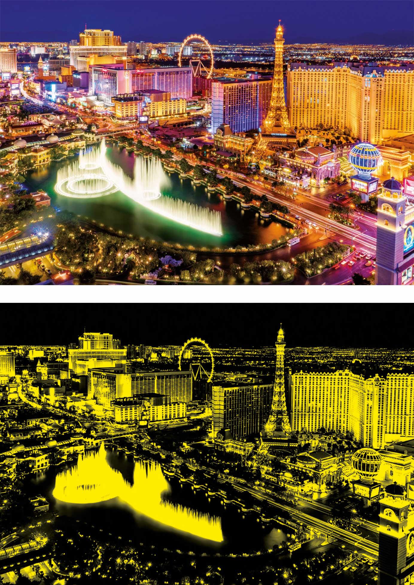 Puzzle Educa Las Vegas (Neón) de 1000 Piezas