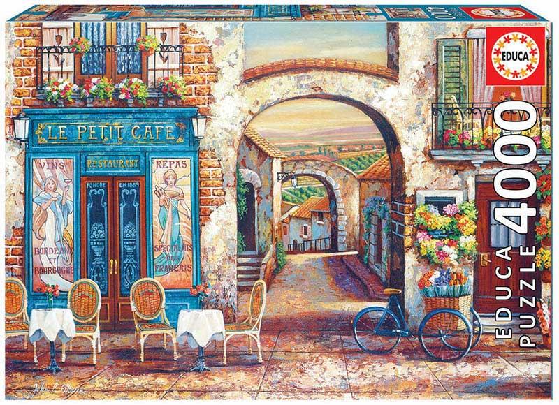 Puzzle Educa Le Petit Café de 4000 Piezas