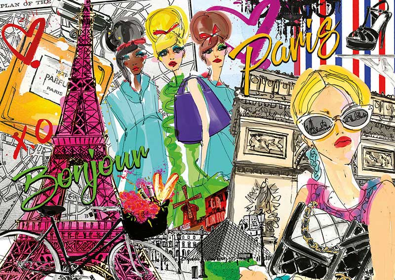 Puzzle Educa Llévame a París de 500 Piezas