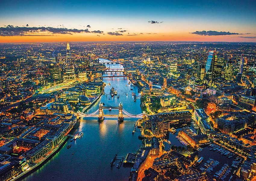 Puzzle Educa Londres Desde el Aire 1500 Piezas