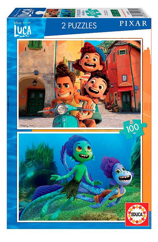 Puzzle Educa Luca Disney de 2 x 100 Piezas