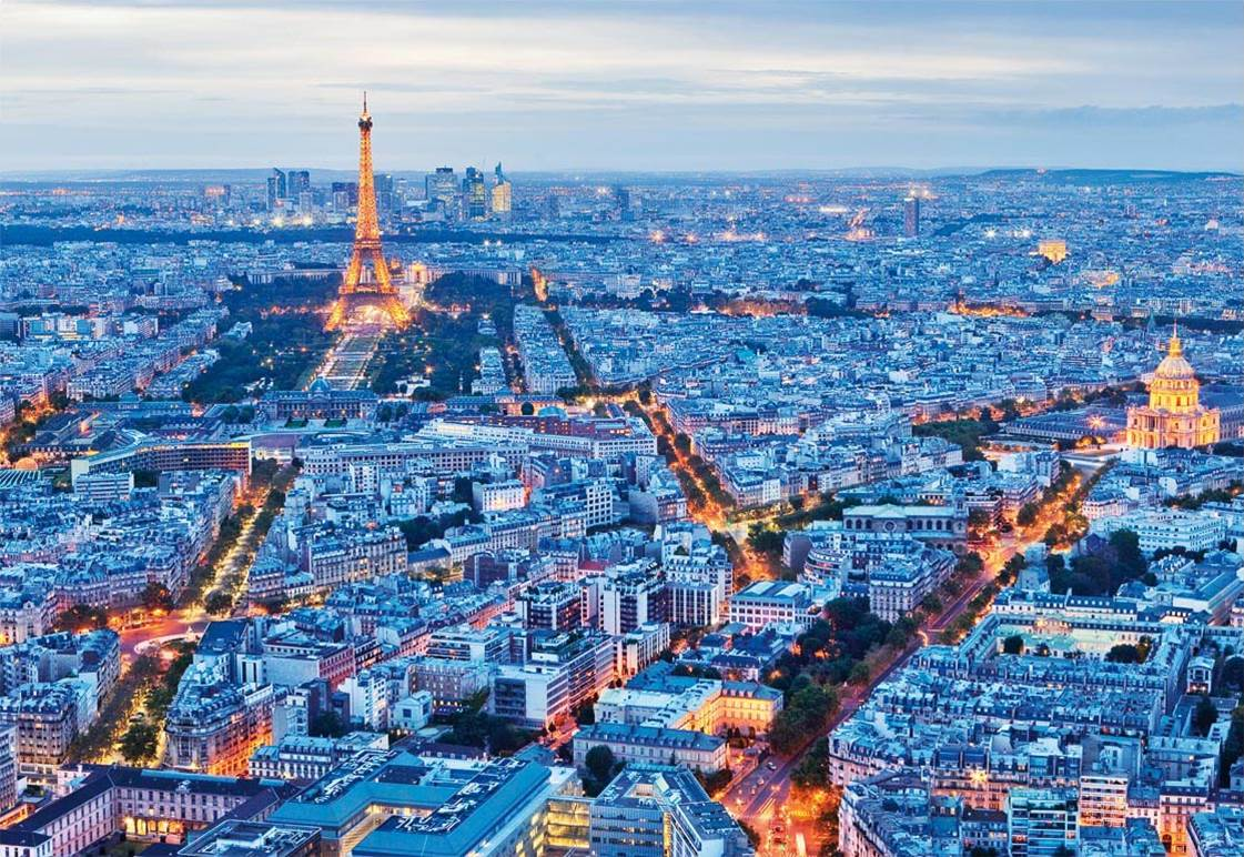 Puzzle Educa Luces de París de 1000 Piezas