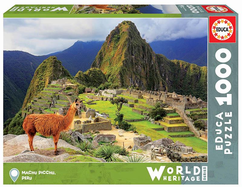 Puzzle Educa Machu Picchu, Perú  de 1000 Piezas