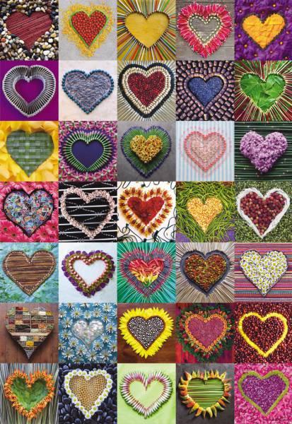 Puzzle Educa Madelens Hearts de 500 Piezas