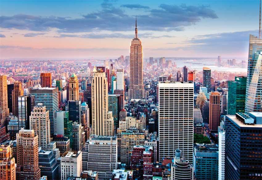 Puzzle Educa Manhathan, Nueva York de 1000 Piezas