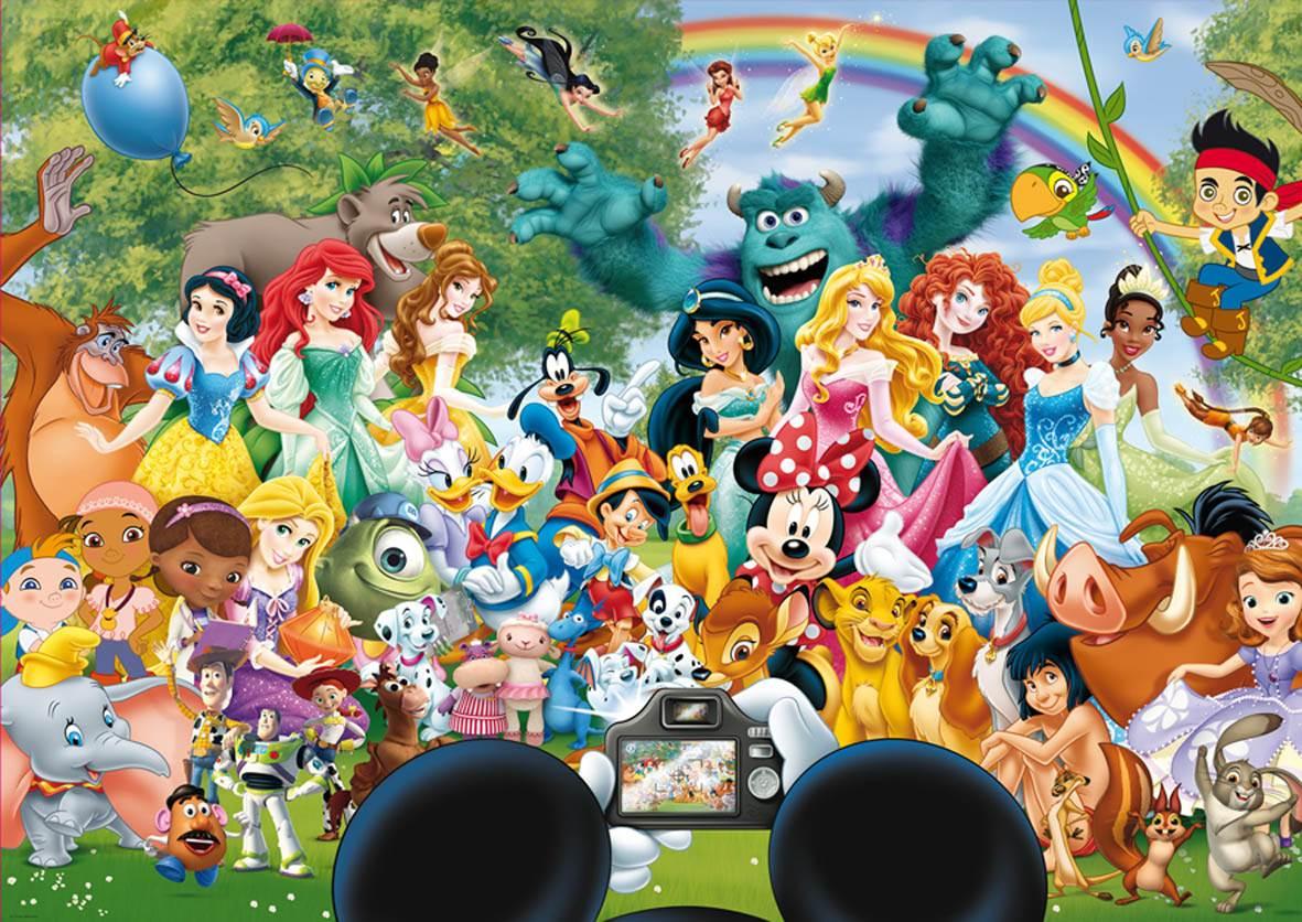 Puzzle Educa Maravilloso Mundo Disney II de 1000 Piezas