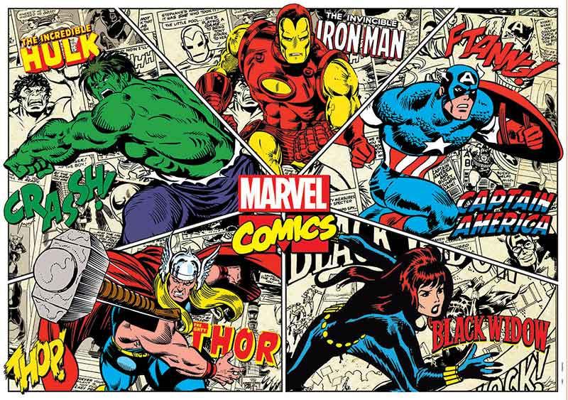 Puzzle Educa Marvel Comics de 1000 Piezas