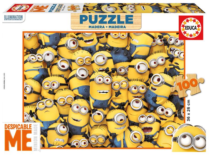 Puzzle Educa Minions 100 Piezas