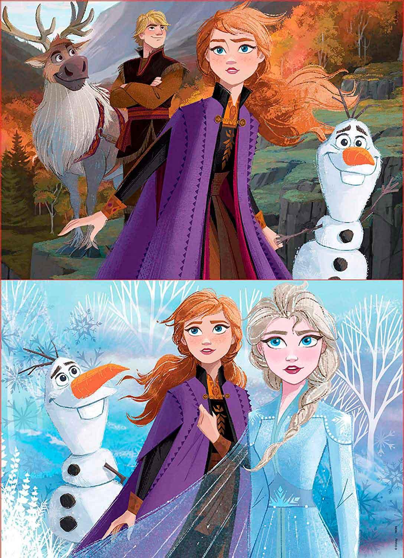 Puzzle Educa Frozen 2 de 2 x 50 Piezas