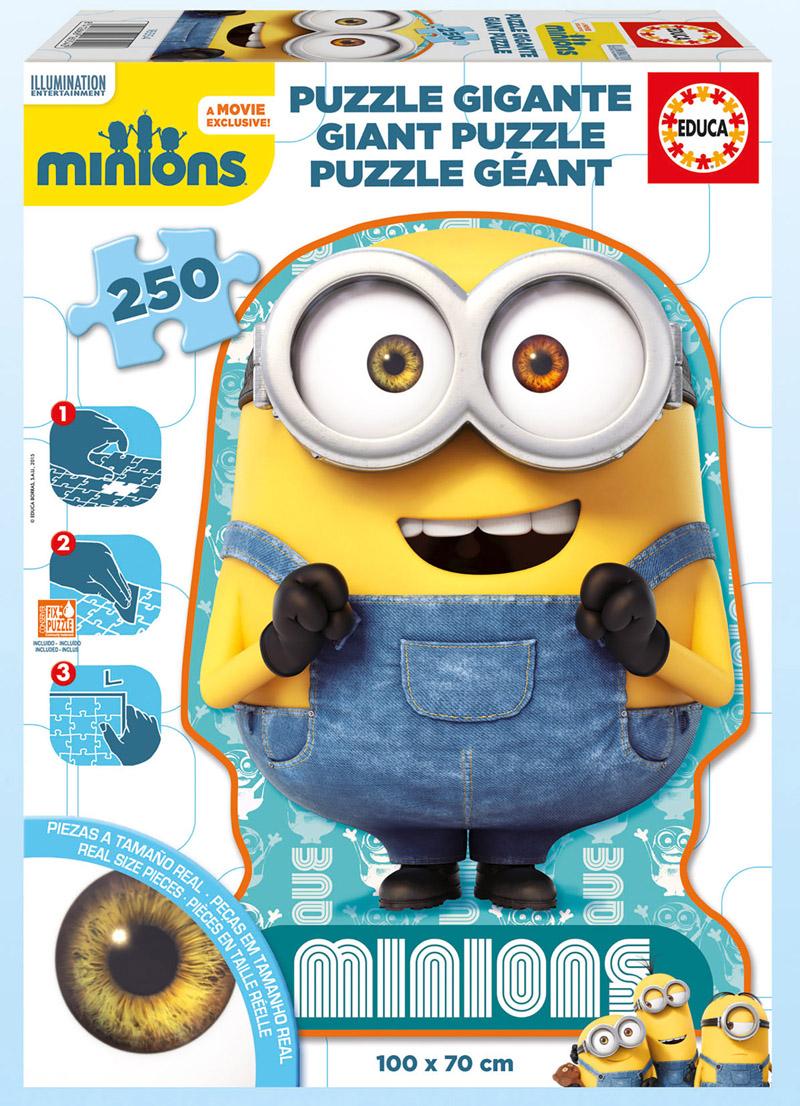 Puzzle Educa Minions Gigante de 250 Piezas