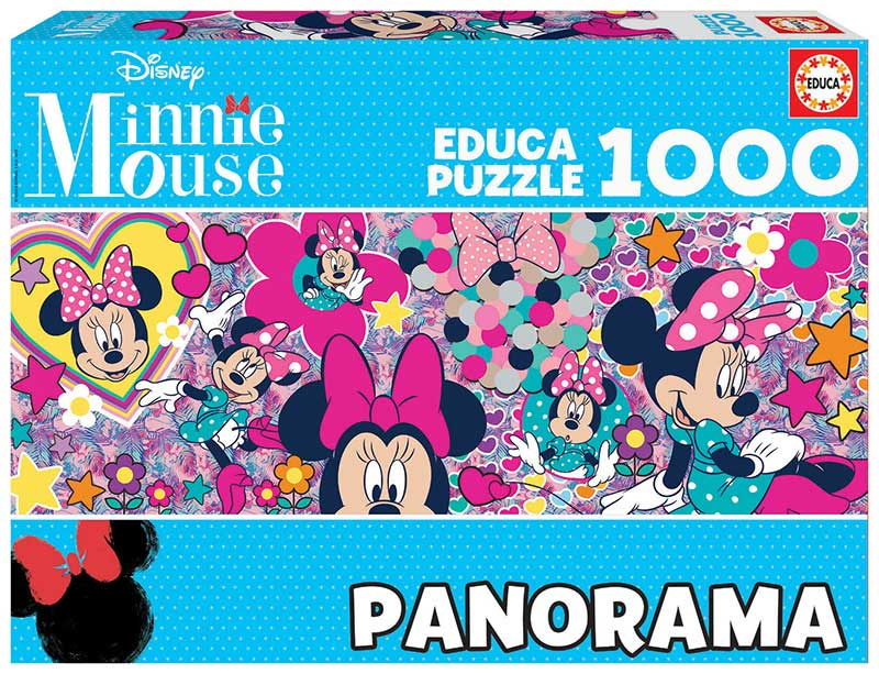Puzzle Educa Minnie Panorama de 1000 Piezas