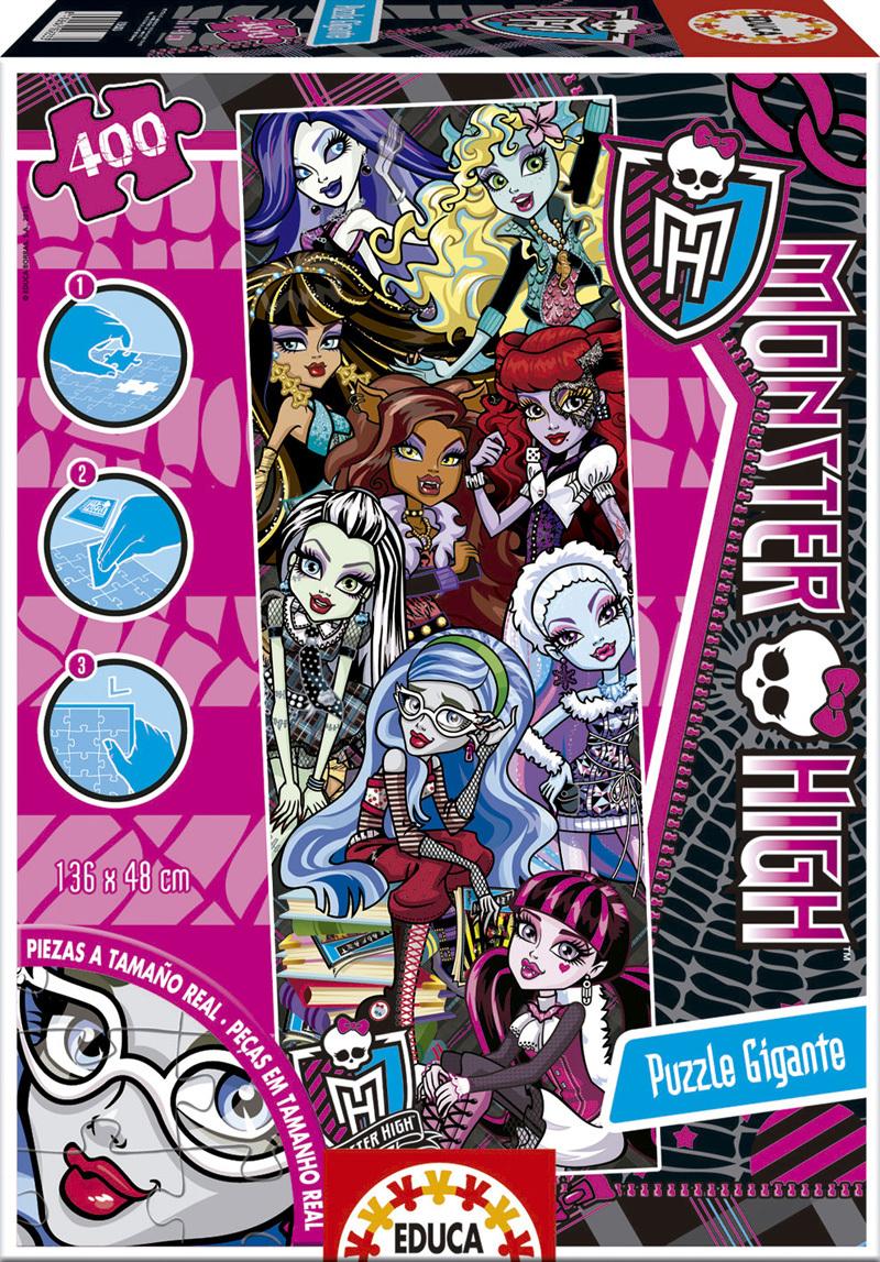 Puzzle Educa Monster High (Piezas Gigantes) de 400 Piezas