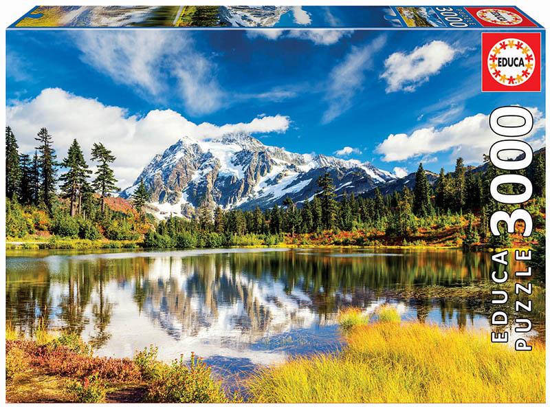 Puzzle Educa Monte Shuksan, Washington, EEUU de 3000 Piezas