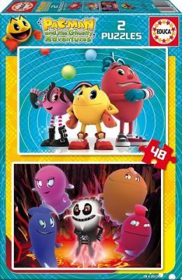 Puzzle Educa Pac-Man 2 x 48 Piezas