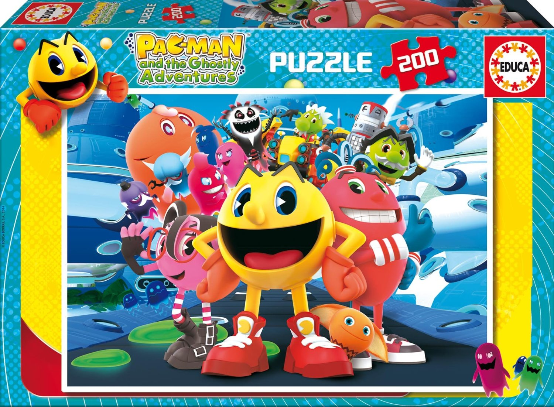 Puzzle Educa Pac-Man de 200 Piezas