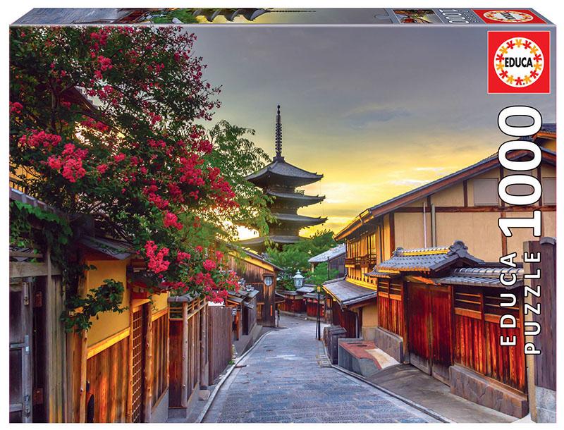 Puzzle Educa Pagoda Yasaka, Kioto, Japón de 1000 Piezas