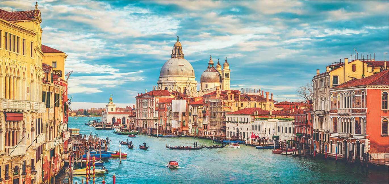 Puzzle Educa Panorama Gran Canal de Venecia de 3000 Piezas
