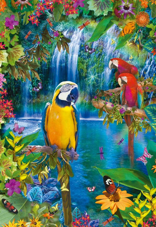 Puzzle Educa Paraíso Tropical de 500 Piezas