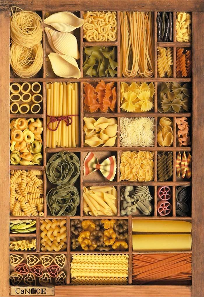 Puzzle Educa Pastas de 1000 Piezas