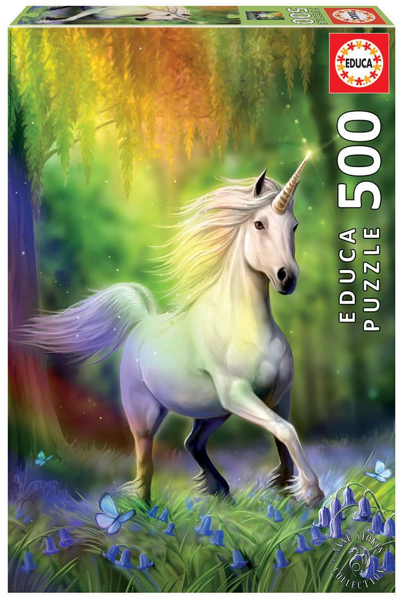 Puzzle Educa Persiguiendo el Arco Iris de 500 Piezas