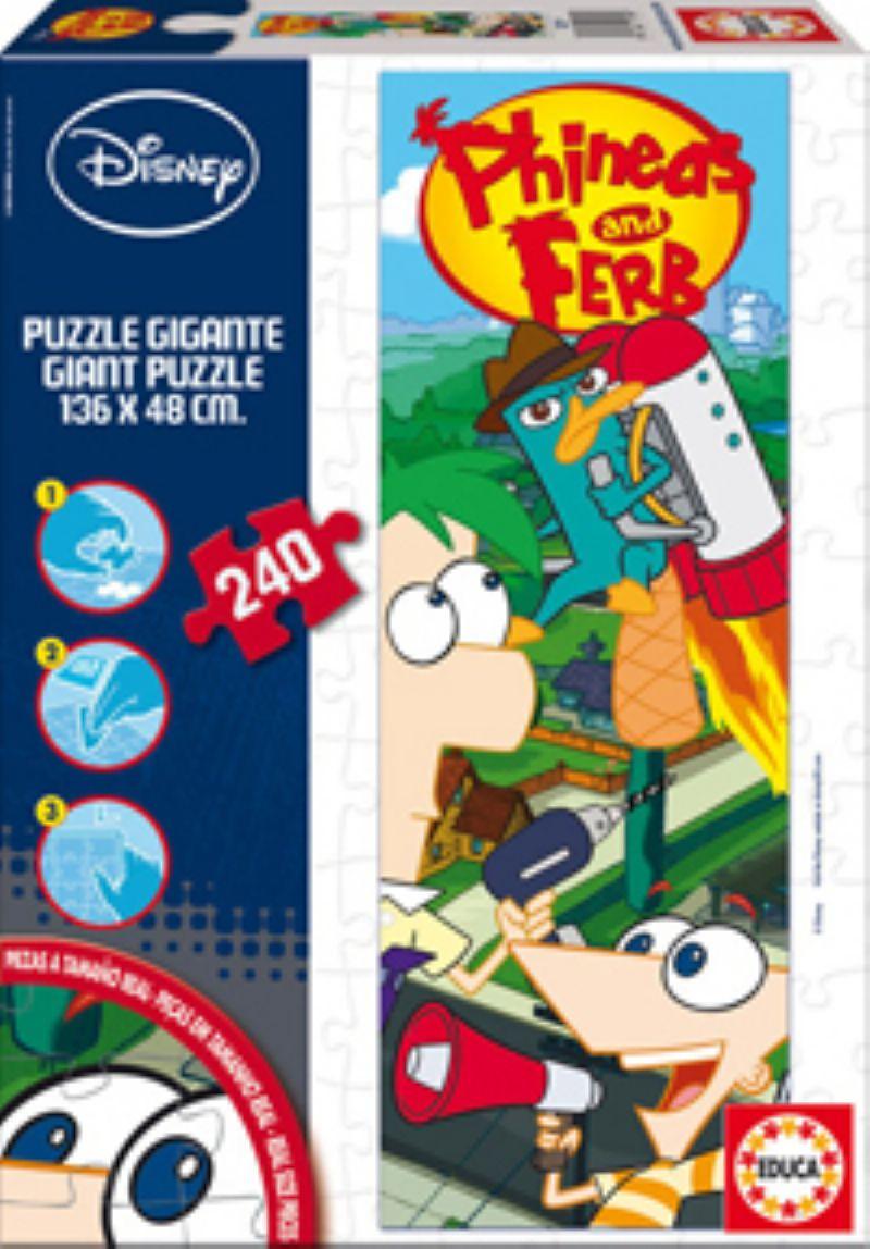 Puzzle Educa Phineas and Ferb  240 piezas de 240 Piezas